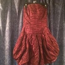 Jessica Mcclintock Red Mini Dress Prom Dress Photo