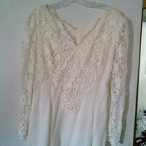 Jessica Mcclintock Wedding Dress Size 16 New Photo