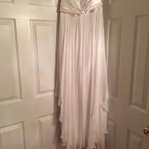 Jessica Mcclintock White Dress Size 11 Photo