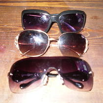 Jessica Simpson and Fossil Sunglasses-Lot of 3 Photo
