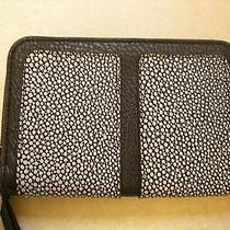 Jessica Simpson Black and White Erin Cell Phone Wristlet Wallet Nwt Photo