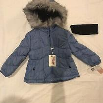Jessica Simpson Brand Young Girls Hooded Coat Size 2t Photo