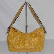 Jessica Simpson Croco Embossed Patent Small Hobo  Photo