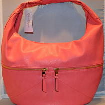 Jessica Simpson Fearless Coral Hobo Photo