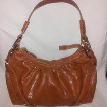 Jessica Simpson Handbag Brown Bag Purse Hobo Gold Rings Studs Free Shipping Photo