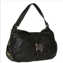 Jessica Simpson Haven Hobo Black Handbag Gold Photo