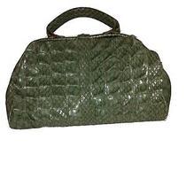 Jessica Simpson Large Green Croc Bag Photo