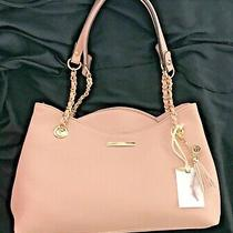 Jessica Simpson Malena Tote Handbag Purse- Powder Blush Nwt Photo