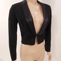 Jessica Simpson New Black Bolero Sz S     (B2 Photo