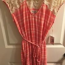 Jessica Simpson Shirt S Pink White Striped Tank Top Maternity Photo
