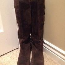 Jessica Simpson Suede Boots Photo