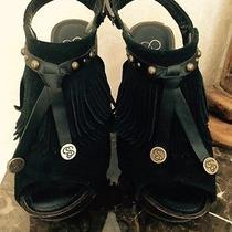 Jessica Simpson Suede Sandals Photo