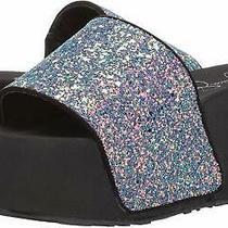 Jessica Simpson Women's Faille2 Slide Sandal Blush Irides Size 8.0 Photo