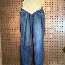 Jessica Simpson Womens Sz Medium Maternity Blue Jeans 13 Photo