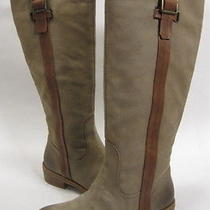 Jessica Simpson Women's Vanitiya Knee-High Boot Dune Yale Leather Size 6 Medium Photo