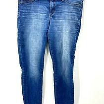 Jessica Simpson Womens Jeans Blue Size 32 Kiss Me Skinny Ankle Stretch  Photo