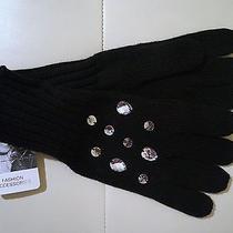 Jessica Simpson Wrist Black Gloves One Size Photo