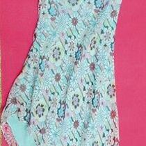 Jeunesse 100 % Silk Floral Print Dress Size 6 Photo