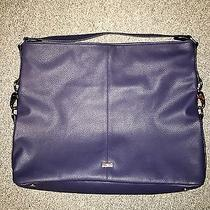 Jewell by Thirty One Fashion Games Midnight Sky Navy Crosshatch - Nwot Photo