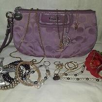 Jewelry Lot Plus Wristlet Coach Clutch  Photo