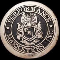 Jh27167 Vintage 1970s Performance Marketers Inc. Belt Buckle Photo