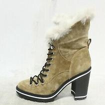 Ji-131 Sigerson Morriso Women's Odelia Block High-Heel Platform Boots Sz 38 Photo
