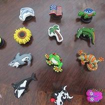 Jibbitz and Croc Bracelets Lot  ) Photo