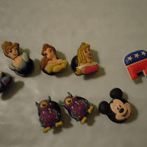 Jibbitz for Croc Charm Lot Disney Princess Republican Elephant Mickey Monster Photo