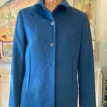 Jil Sander Blue Wool & Cashmere Jacket Size 38 Photo