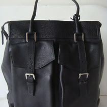 Jil Sander - Soft Grain Leather Tote Bag With Front Pockets -Style 3(brand New) Photo