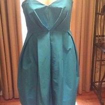 Jill by Jill Stuart Formal Short Strapless  Dress Turquoise  Size 6 Photo