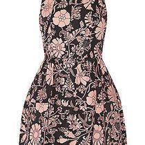 Jill Stuart Aydan Floral Print Mini Dress in Blush Size 4 Photo