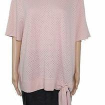 Jillian N Women's Top Blush Pink Size 2x Plus Knit Tie Side Tunic 38 433 Photo