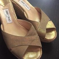 Jimmy Choo Metallic Sandal Photo