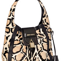 Jimmy Choo Pony Leopard Gemma Hobo Bag New 2595 Photo