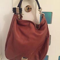 Jimmy Choo Shoulder Sky Hobo Bag Bag Large Bracelet Black Leather Brown Photo