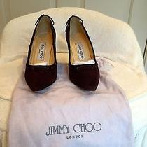 Jimmy Choo Suede Pumps Photo