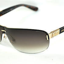 Jimmy Choo Sunglasses Flo/s  Col. 8n0js Gold Havana/gradient Lenses Photo