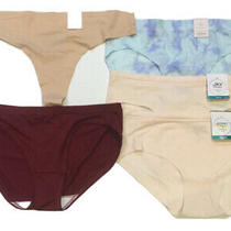 Jky Jockey Auden Thong Bikini Hipster Variety Pack of 5 Seamless Size Xl Photo