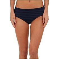 Jockey 257358 Women's Comfies Matte & Shine Hi Cut Underwear Navy Size 7 Photo