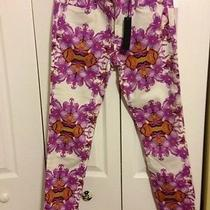 Joe's  High Water Jeans in Fuchsia Exotic Orchid Photo