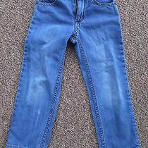 Joe's Jeans  Boys Size 5  Blue Denim  Built in Adjustable Elastic Waist Band Photo