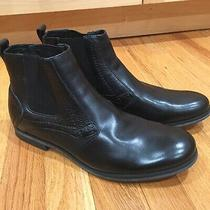 Joes Jeans Brians Ankle Boot Black Leather Men Size 8 Nwot  Photo