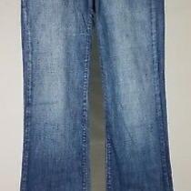 Joe's Jeans Dark Harvey Wash Blue Denim Boot Cut Jeans Ladies 27 W X 32 L Photo
