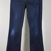 Joe's Jeans Dark Wash Blue Honey Fit Boot Cut Denim Jeans Hemmed Ladies 25 Photo