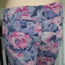 Joe's Jeans High Water Slim Skinny 30 Tainted Rose Water Stretch Purple Pink Photo