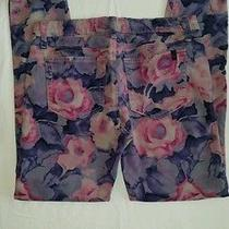 Joe's Jeans High Water Tainted Rose Sz 29 Photo