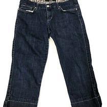Joe's Jeans Socialite Kicker Capri Leg Women's Stretch Jeans 29 Ankle Photo