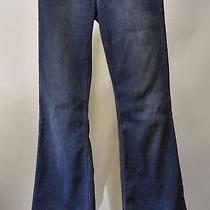 Joe's Jeans the Icon Flare Mid Rise Flawless Collection Camilla Blue Size 27 90 Photo