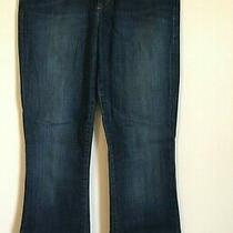 Joe's Jeans Women Size 26 Visionaire Stephanie Wash Flare Boot Dark Wash Classic Photo